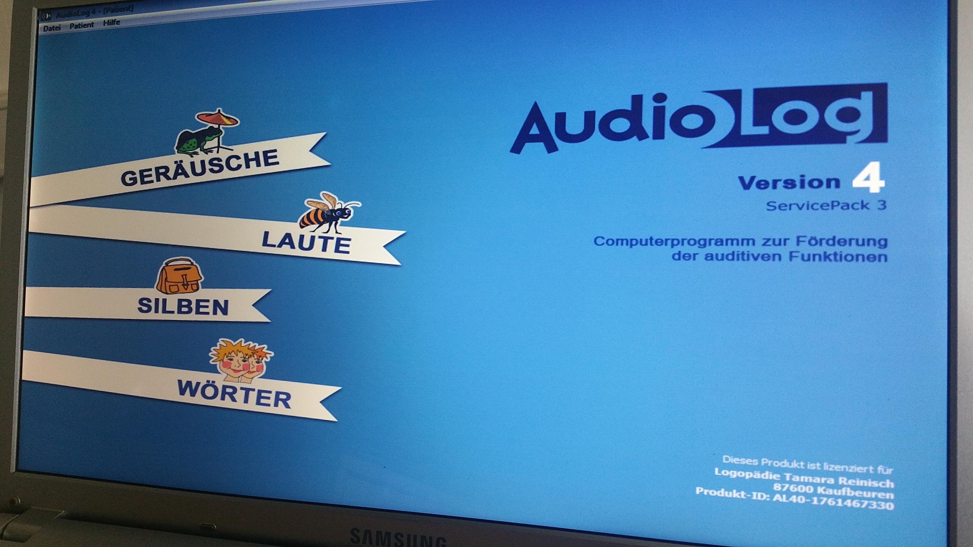 Audiolog, Hörtraining, auditive Wahrnehmung