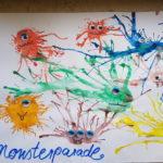 """Spielidee zur Förderung der Mundmotorik: """"Monsterparade"""""""