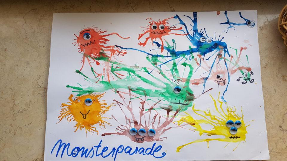 Monsterparade, Blaseübung, Logopädie