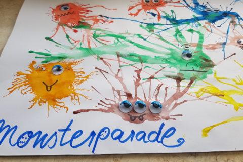Monsterparade - gruselige Monster - der Spaß für jedes Kind!